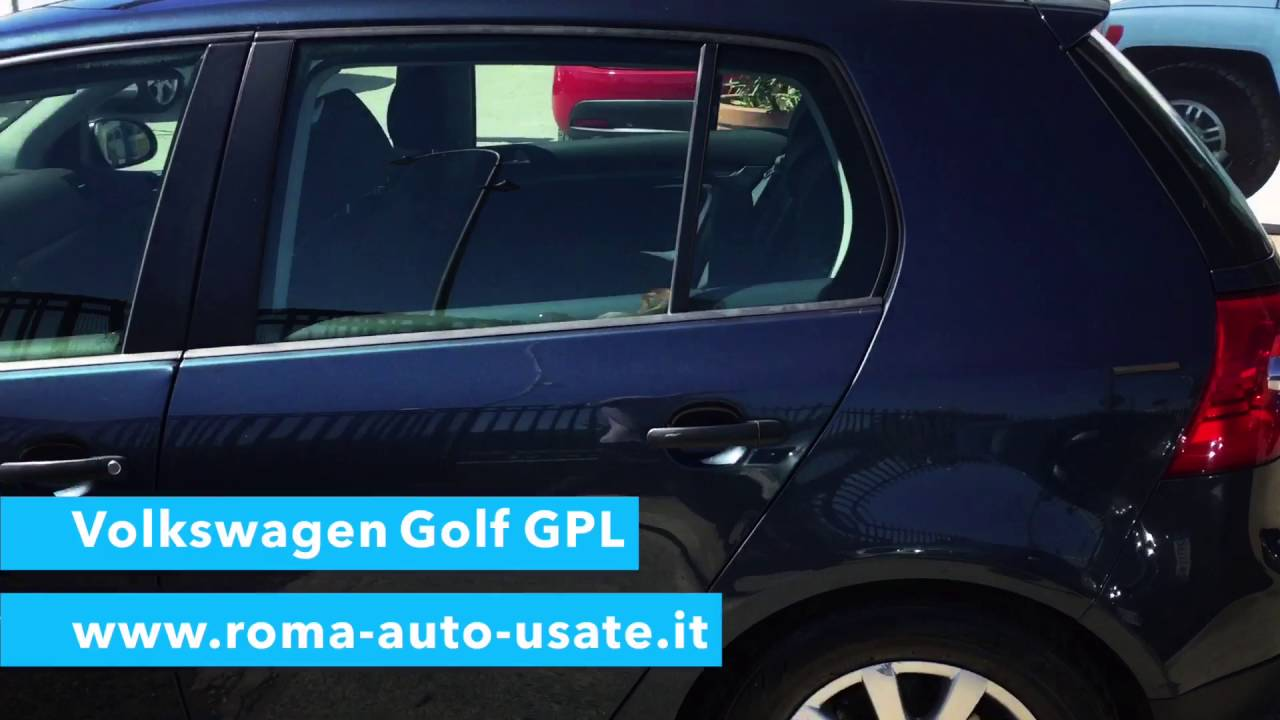 Volkswagen Golf Gpl Www Roma Auto Usate It Youtube