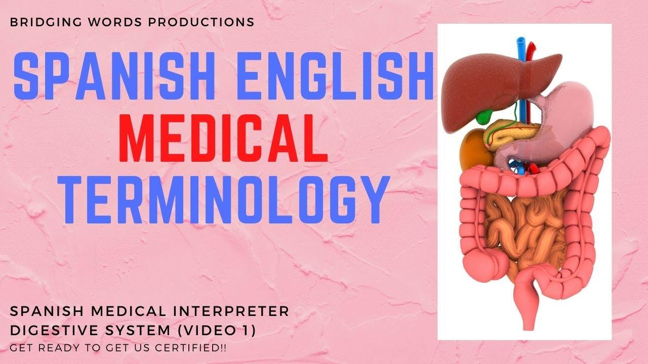 Medical Interpreter Certification Terminology Spanish English