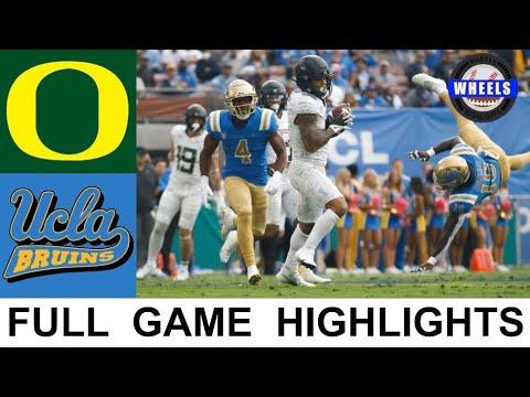 Download #10 Oregon vs UCLA Highlights | College Football Week 8 | 2021 College Football Highlights