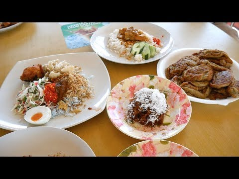 Delicious MALAY FOOD in Kelantan- traditional Kelantanese food | Food and Travel Channel | Malaysia