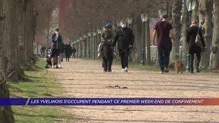 Yvelines | Les Yvelinois s'occupent pendant ce premier week-end de confinement