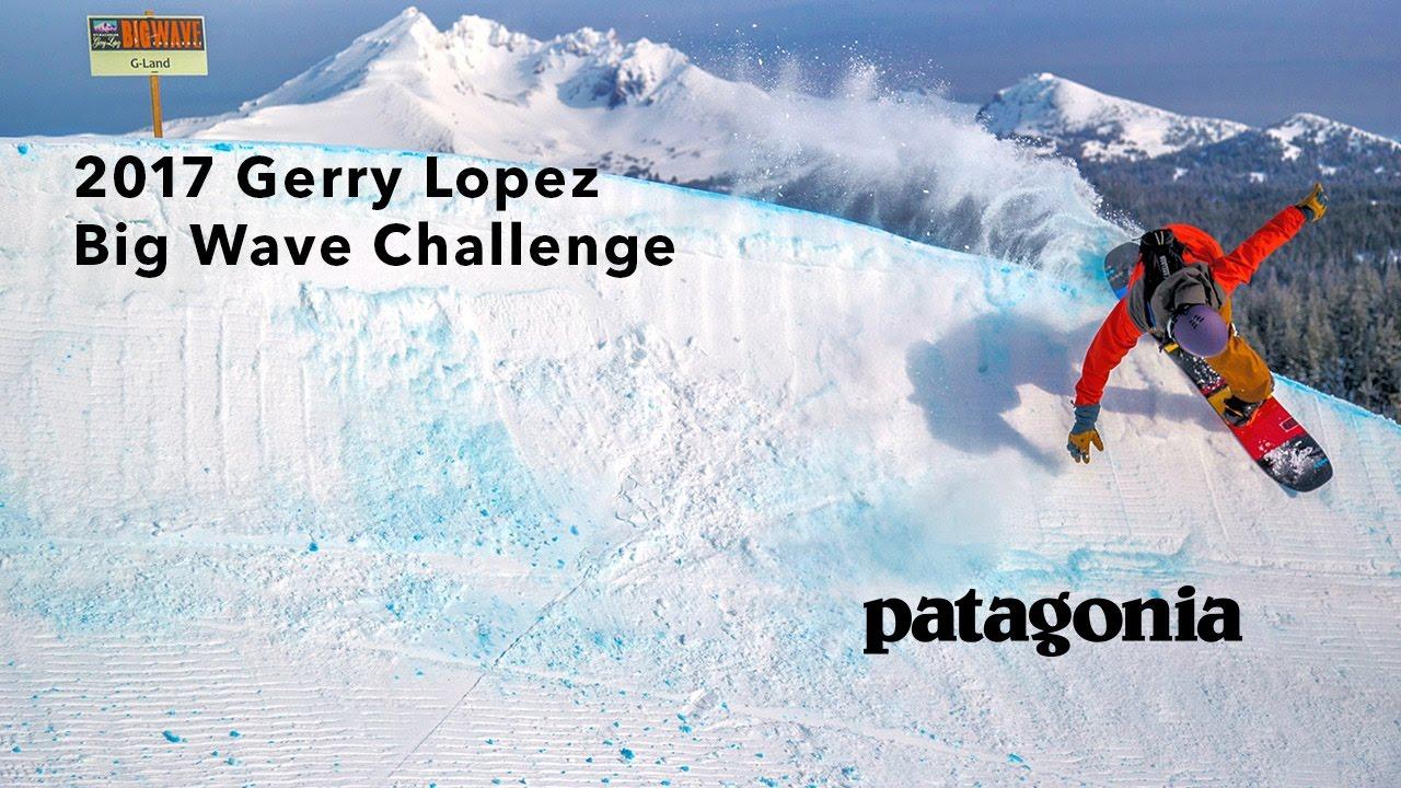 surf up at patagonia