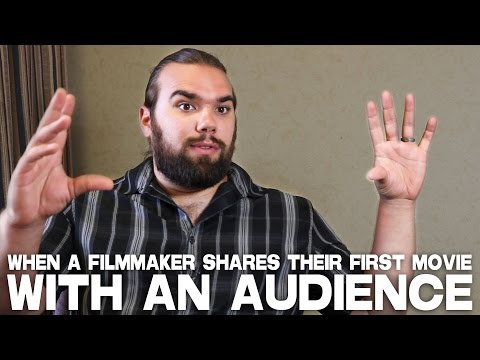 When A Filmmaker Shares Their First Movie With An Audience by A.J. RickertEpstein