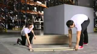 Відео - інструкція, збірка вітрини BRW