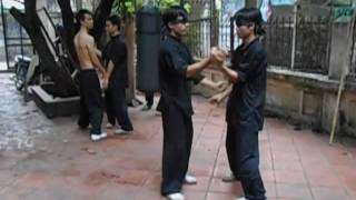 Wing chun blindfolded demo