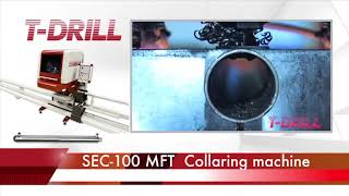 Video T-DRILL SEC-100 Collaring machine 2017 download MP3, 3GP, MP4, WEBM, AVI, FLV Agustus 2018