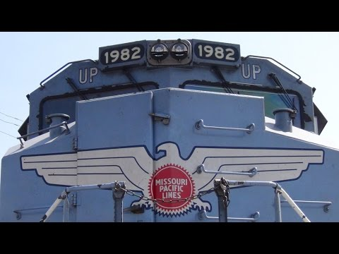 Union Pacific 1982 on Display in Houston TX! 10/10/2015