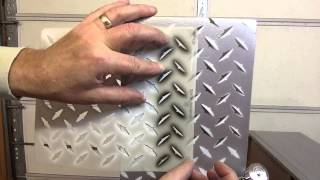 How To Airbrush Diamond Tread Plate On A Wood Dresser Using Automotive Paint