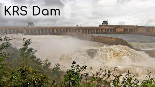 KRS Dam gates opened 2019 Mandya tourism Karnataka tourism Dams of Karnataka