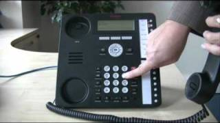 Setting up a conference call - Avaya IP Office 1616 series telephone