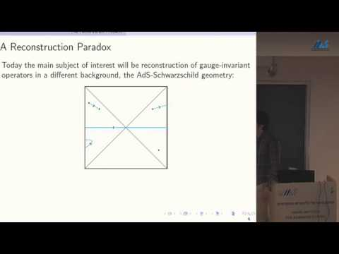 Daniel Harlow (Harvard University) Wormholes, Emergent Gauge Fields, and the Weak Gravity Conjecture
