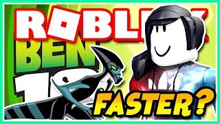 HOW TO GO EVEN FASTER WITH XLR8 (Ben 10 Arrival of Aliens - ROBLOX)
