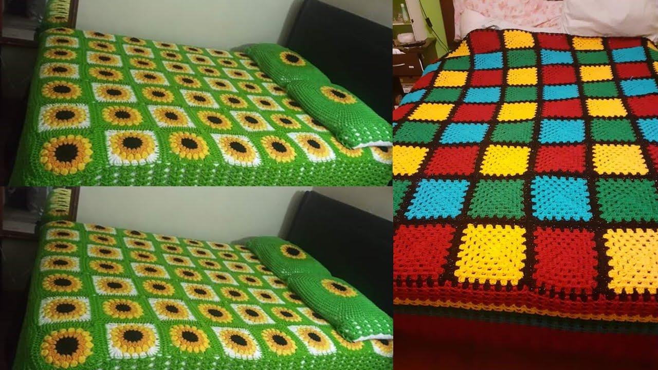 las mejores colchas tejidas para tu cama /todo tejido cobertores
