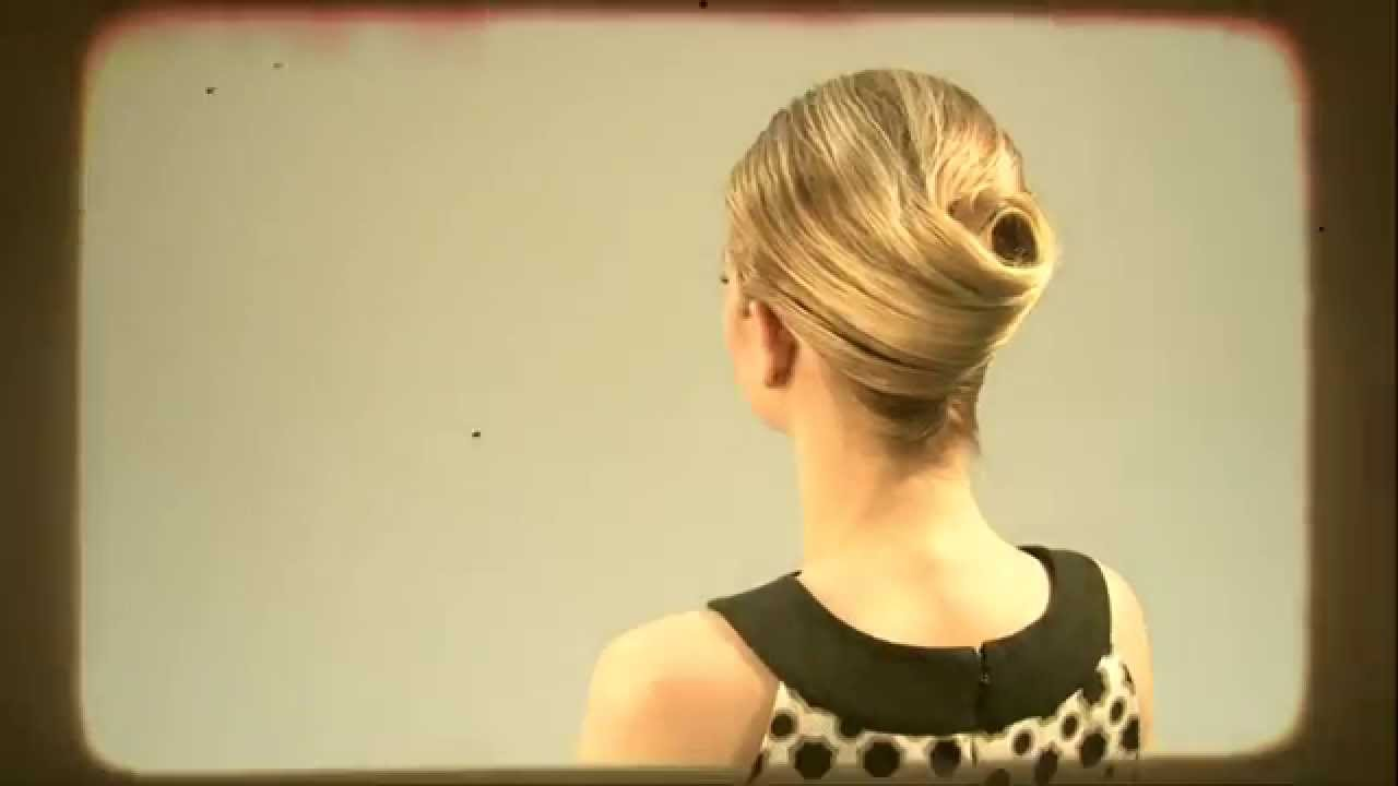 Quot How To Do A Classic French Twist Quot By Mary Brunetti For