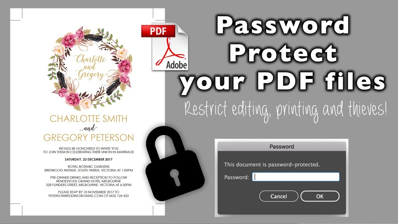 pdf how to remove secured