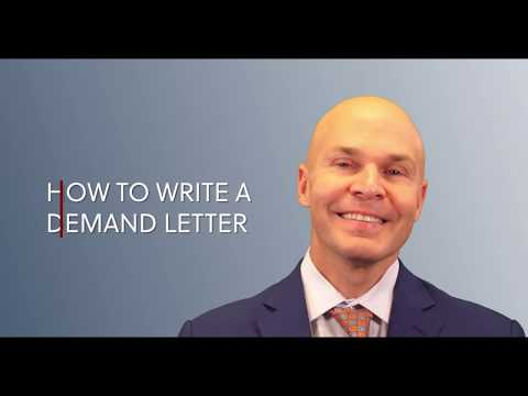 How To Write A Demand Letter In An Injury Case