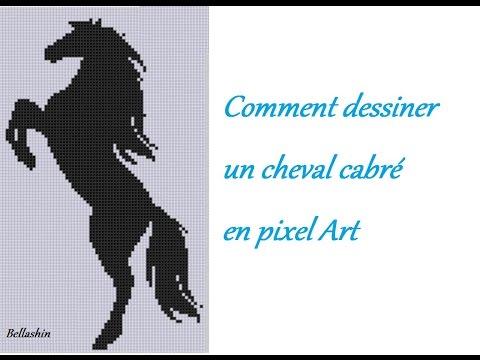 Tutoriel Comment Dessiner Un Cheval Cabré Pixel Art