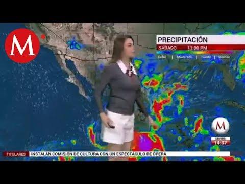 El clima para hoy 18 de octubre, con Arlett Fernández