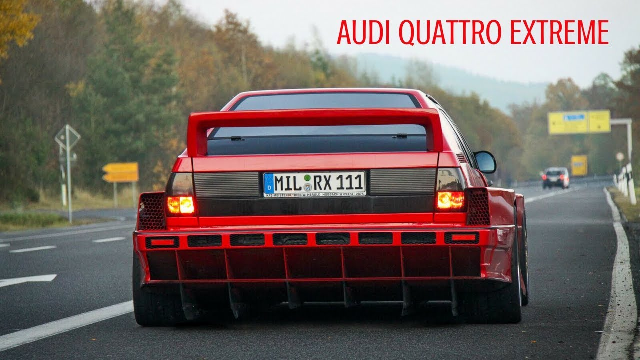 audi quattro extreme herold motorsport at the n rburgring towed away youtube. Black Bedroom Furniture Sets. Home Design Ideas