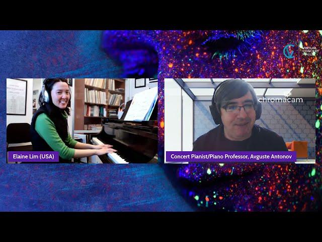 SEC presents Piano Masterclass with Avguste Antonov on Haydn - Sonata in A-flat Major, Hob XVI 46