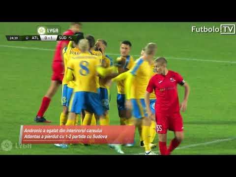 Andronic, primul gol în Lituania