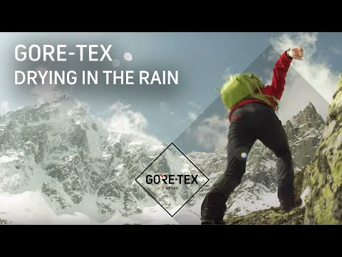 GORE-TEX Products Test #4: Drying in the rain - fourth webisode of
