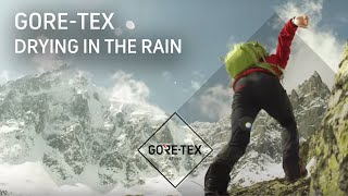 "GORE-TEX Products Test #4: Drying in the rain - fourth webisode of ""The Promise"""