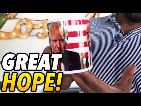 The Great White Hope / The Great Black Hope! (Gift Mug from Luka)