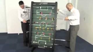 "Www.madfun.co.uk - 4ft 6"" Wembley Folding Table Football Table Bce Hft-5jlb"
