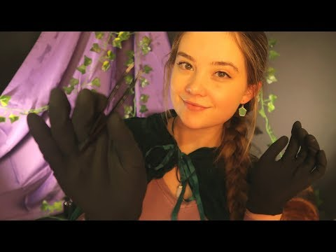 ASMR Magical LICE REMOVAL Roleplay! Gloves, Scalp Sounds