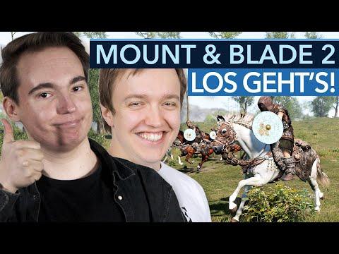Mount & Blade 2 Endlich Released! Maurice Und Jochen Stürzen Sich Ins Mittelalter