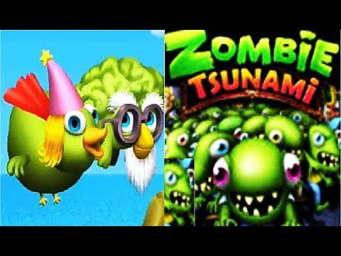 Игра зомби цунами mobilegameplaysu