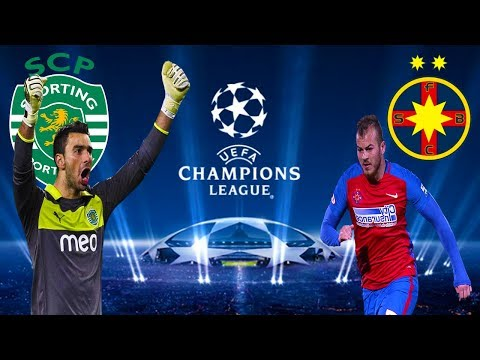 Sporting Lisabona vs Steaua Bucuresti Uefa Champions League - PES 2017 Romania 1 vs 1
