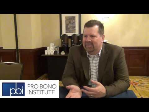 Why Do Pro Bono? Larry Bennett, Intel