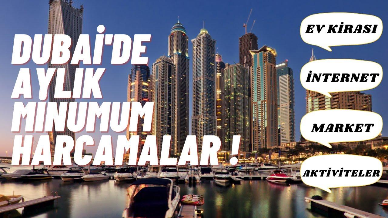 DUBAI'DE BİR AYDA NE KADAR HARCIYORUZ ? | DUBAI'DE YAŞAM