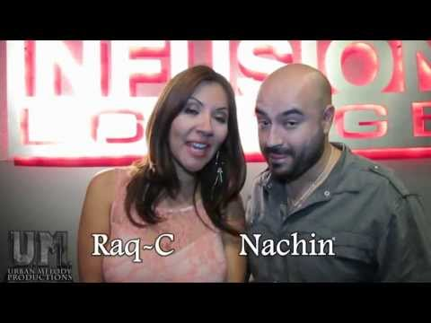 Raq C (La Comadre) & Nachin - Exitos 93.9 FM - Urban Melody TV