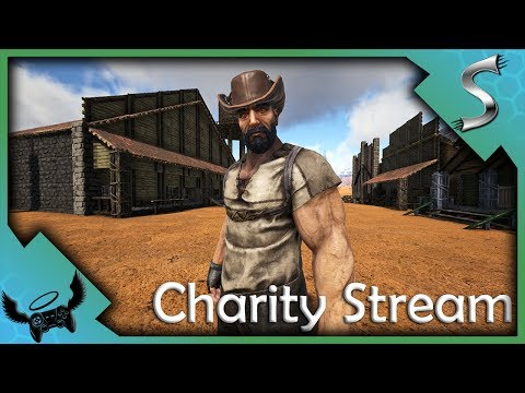 ExtraLife4Kids Charity Stream - Western Town Building - Ark: Survival Evolved
