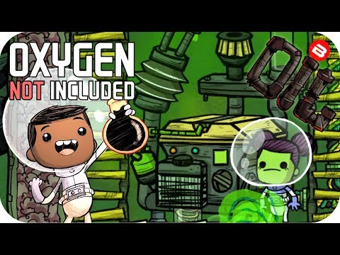 Oxygen Not Included OIL UPGRADE: PETROLEUM 2KW POWER!!! SEASON 02 EP 18 ONI