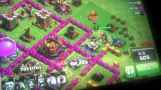 Clash of clans con salvo craft