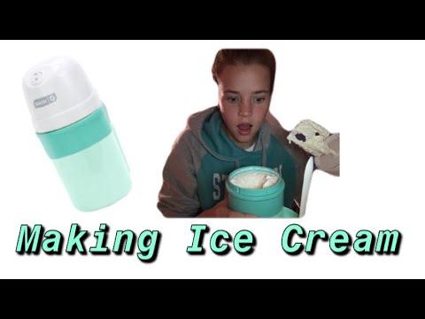 MAKING ICE CREAM🍦