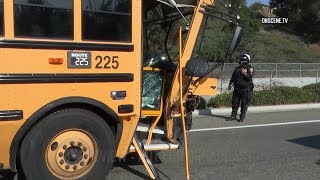 School Bus Crash Results In Major Injuries In Chula Vista