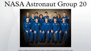 NASA Astronaut Group 20