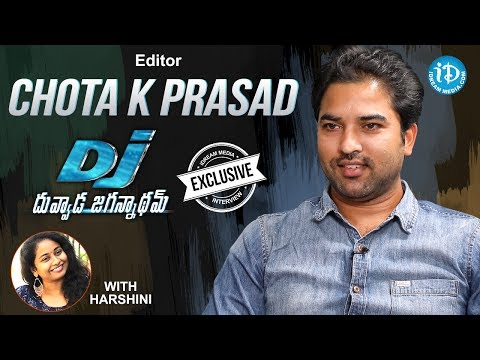 DJ Movie Editor Chota K Prasad Exclusive Interview || Talking Movies With iDream