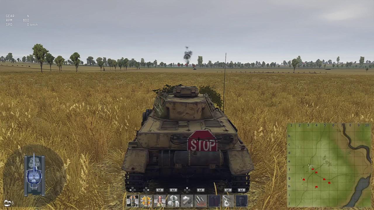 War Thunder - PS4 sight distance control setup - YouTube