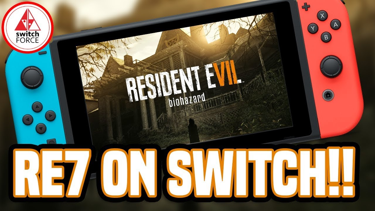 Huge Switch News Resident Evil 7 First Cloud Streaming Game Youtube