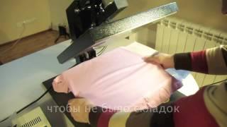 Футболка термотрансферная(Процесс изготовления футболки с использованием термотрансферной пленки от макета до готового изделия., 2012-06-12T03:32:51.000Z)
