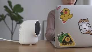 가정용 미니 히터 사무실 기숙사 데스크 전기 온풍기