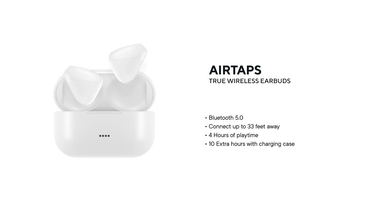 be632e03330 AirTaps Wireless Bluetooth Earbuds with Charging Case | StackSocial