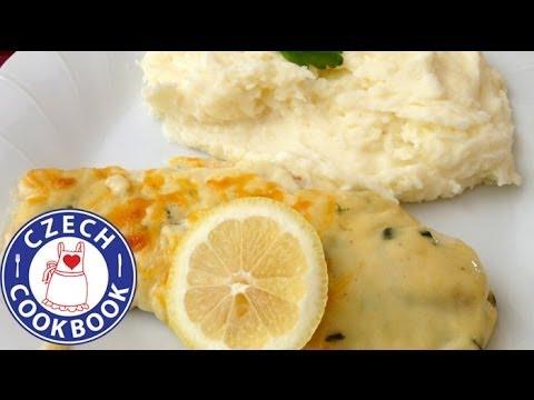Baked Fish In Cheese Sauce Recipe - Zapečená Ryba V Sýrové Omáčce - Czech Cookbook