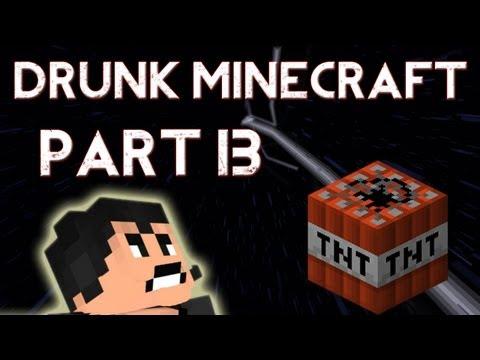 Drunk Minecraft #13 | LATIN'S WRATH
